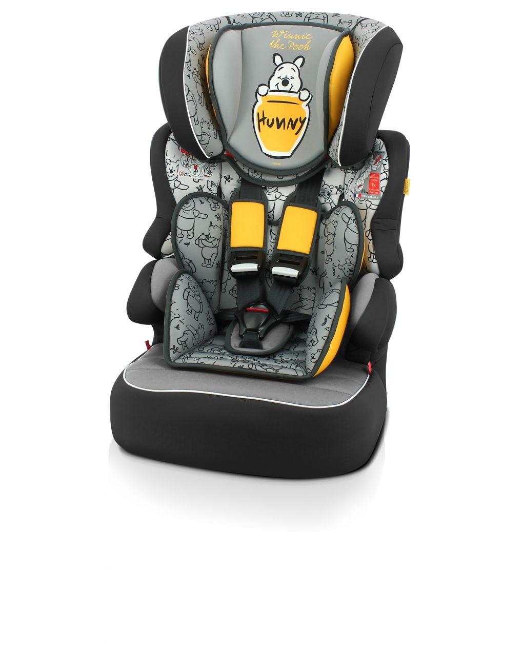 Giordani Κάθισμα Αυτοκινήτου Argo 1-2-3 Winnie The Pooh - Γκρι