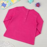 Μπλούζα Φούτερ Φούξια με Στάμπα για Κορίτσι