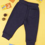 Παντελόνι Φόρμας Σκούρο Μπλε με Στάμπα για Αγόρι