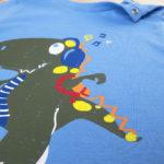 Μπλουζάκι Μακρυμάνικο με Στάμπα Δεινόσαυρο για Αγόρι