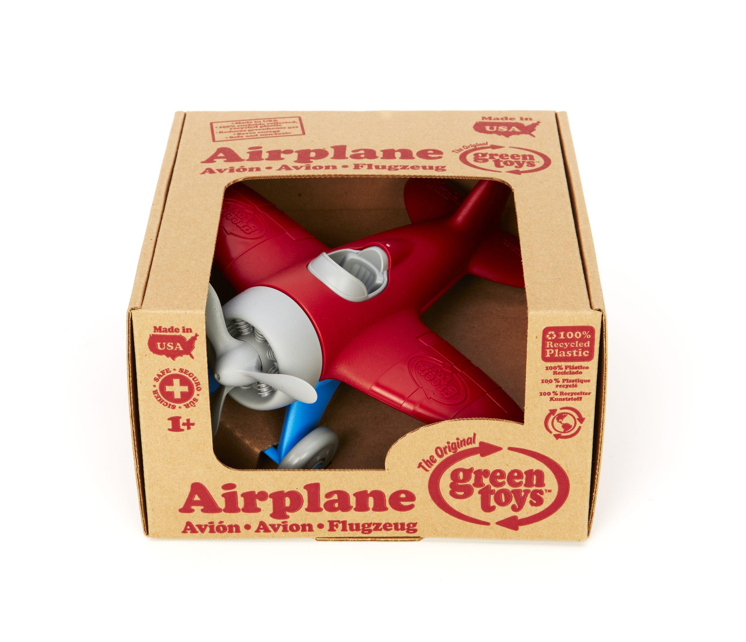 Green Toys: Αεροπλάνο Κόκκινο AIRB-1027