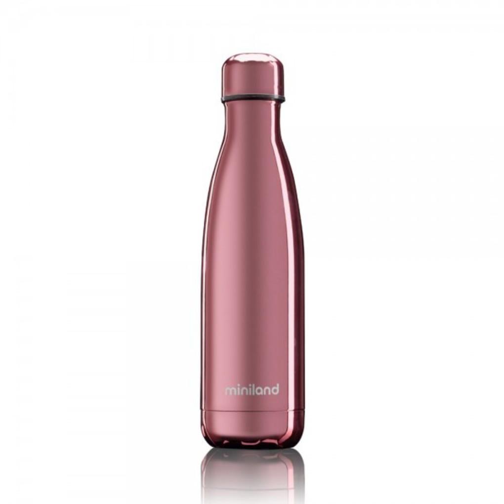Miniland Θερμός Μπουκάλι Deluxe Rose Gold 500ml