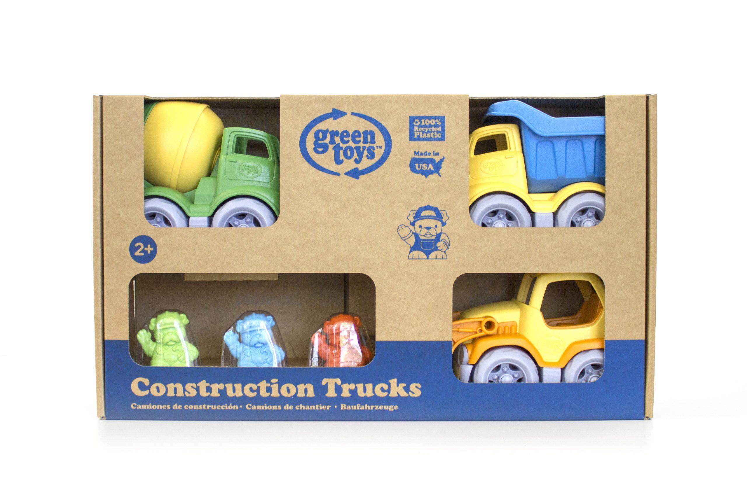 Green Toys: Κατασκευαστικά Οχήματα Σετ 3 τεμαχίων CST3-1209