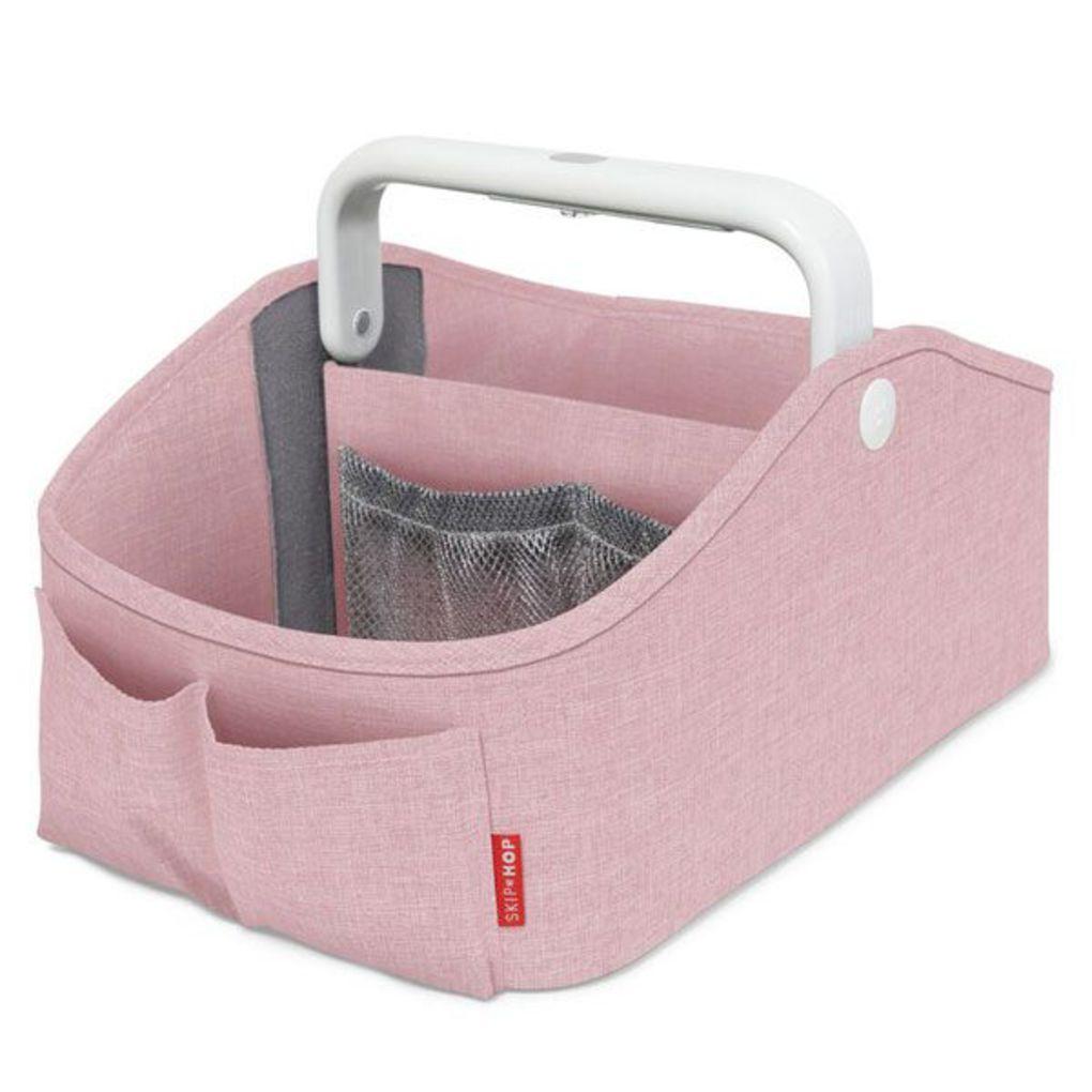 Skip Hop Light Up Diaper Caddy-  Pink Heather
