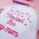 Φορμάκι Βαμβακερό Δίχρωμο Ροζ με Στάμπα για Κορίτσι