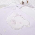 Σετ Σαλοπέτα και Μπλουζάκι Ροζ με Αρκουδάκι για Κορίτσι