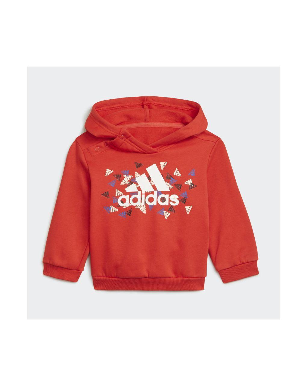 Adidas Σετ Φόρμας Badge of Sport Κόκκινο για Αγόρι H28842