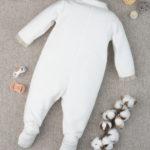 Φορμάκι Σενίλ Μπεζ με Αρκουδάκια για Κορίτσι