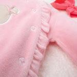 Φορμάκι Σενίλ Ροζ με Αρκουδάκι για Κορίτσι
