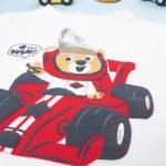 """Μπλουζάκι Μακρυμάνικο με Στάμπα """"Racer"""" για Αγόρι"""