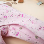 Φορμάκι Δίχρωμο Ροζ με Γατάκια για Κορίτσι