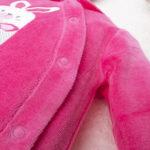 Φορμάκι Σενίλ με Κουνελάκι Φούξια για Κορίτσι