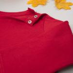 Μπλούζα Μακρυμάνικη Βαμβακερή Κόκκινη για Αγόρι