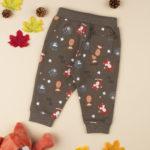 Παντελόνι Φόρμας Χακί με Ζωάκια για Αγόρι