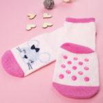 Καλτσάκια Αντιολισθητικά με Ποντικάκι για Κορίτσι