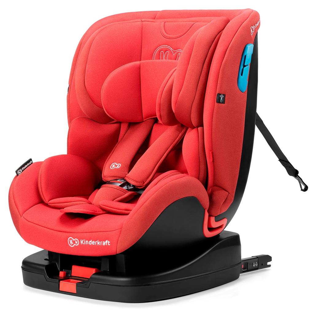 Kinderkraft Κάθισμα Αυτοκινήτου Vado With Isofix System Red