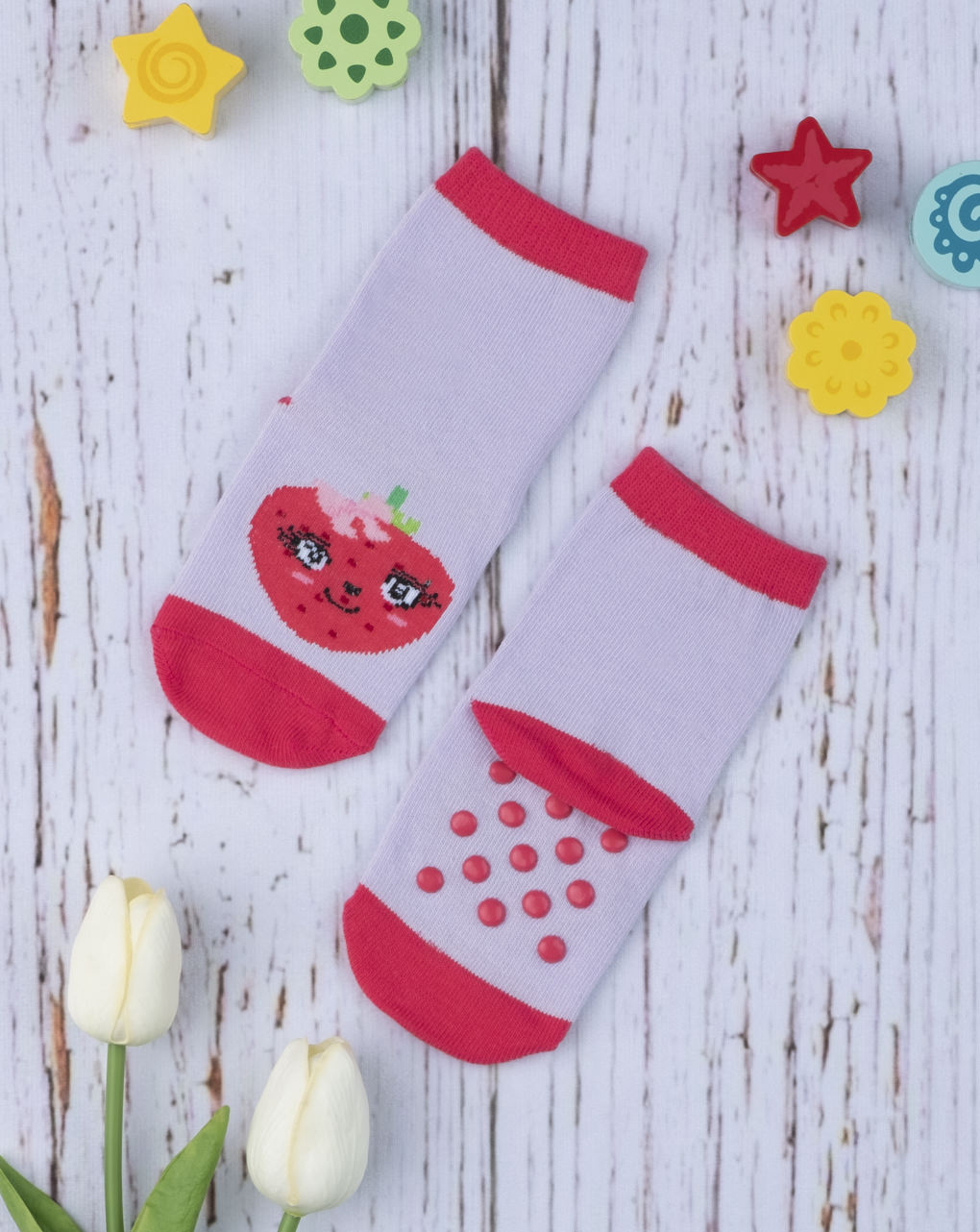 Αντιολισθητικές Κάλτσες για Κορίτσι