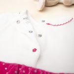 Σετ Φόρεμα και Κολάν Δίχρωμο για Κορίτσι
