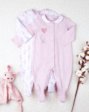 Φορμάκι Jersey Ροζ Πακέτο Χ2 για Κορίτσι
