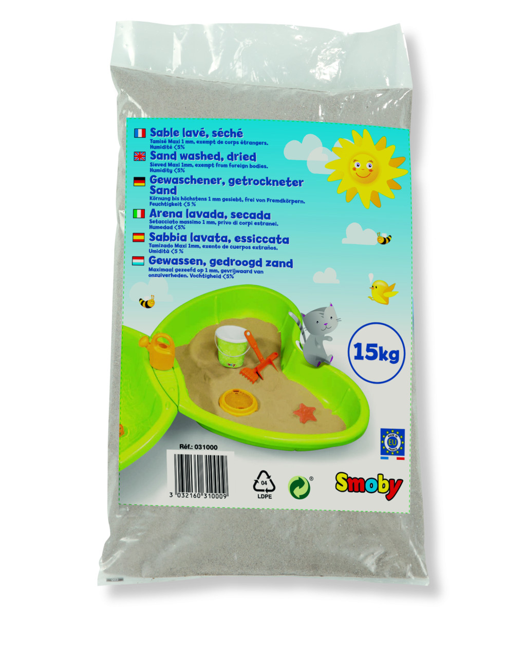 Smoby - Τσάντα άμμου 15 Kg