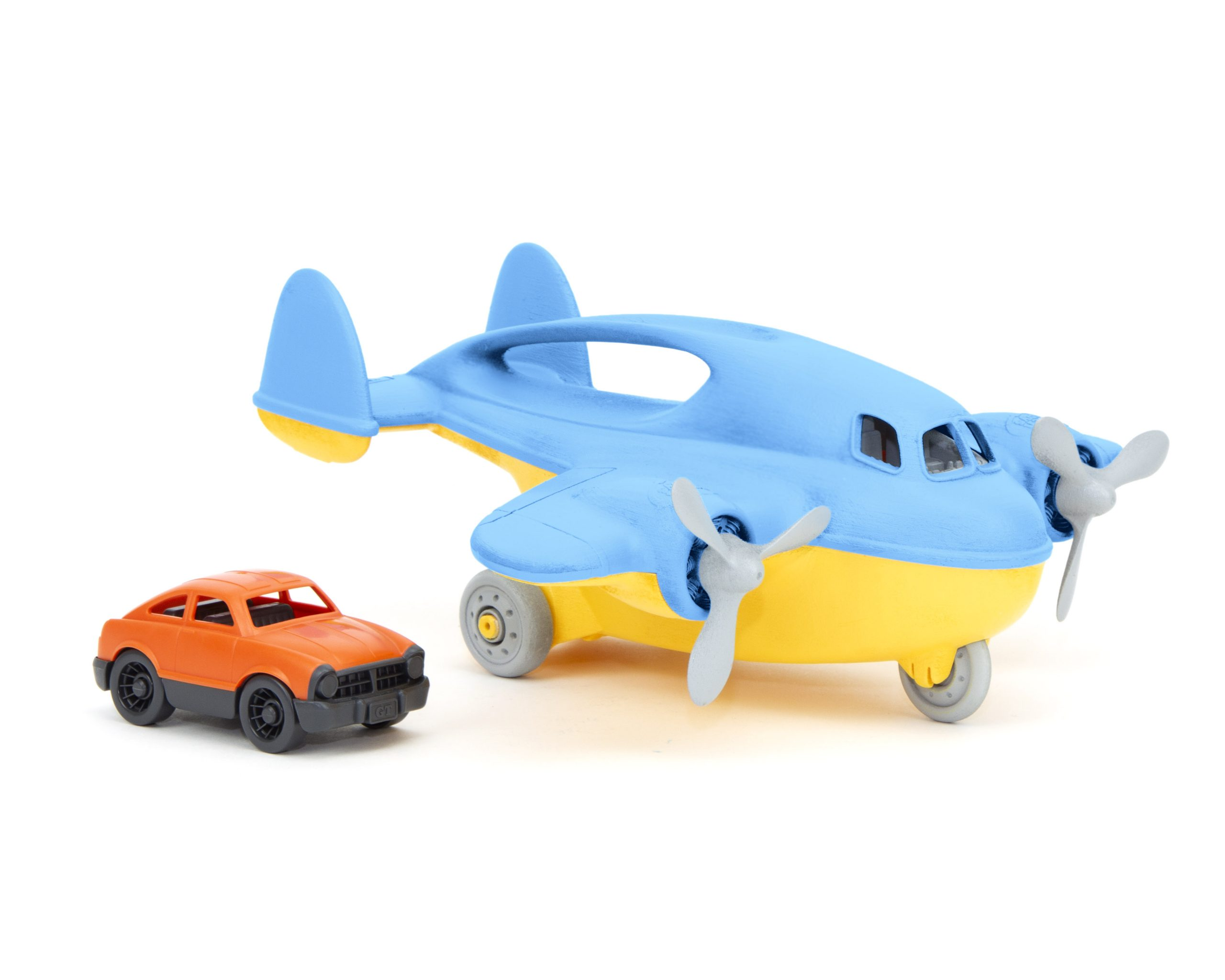 Green Toys: Αεροπλάνο για Εμπορεύματα - B3:B42 Μπλε CRGB-1399