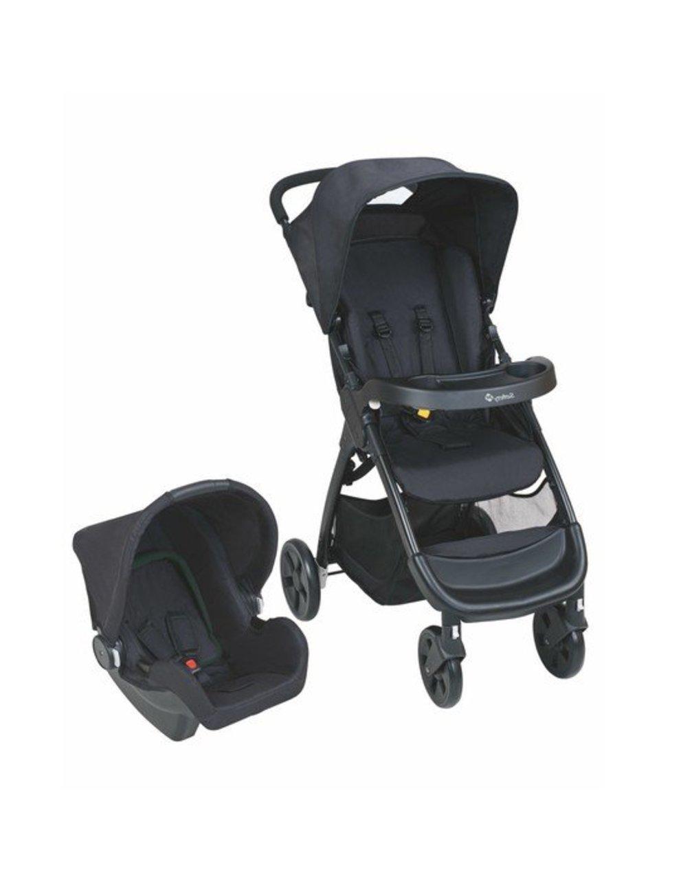 Safety 1st Σύστημα Μετακίνησης 2 σε 1 Amble Full Black