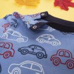 Πιτζάμα Interlock Σκούρο Μπλε με Αυτοκινητάκια για Αγόρι