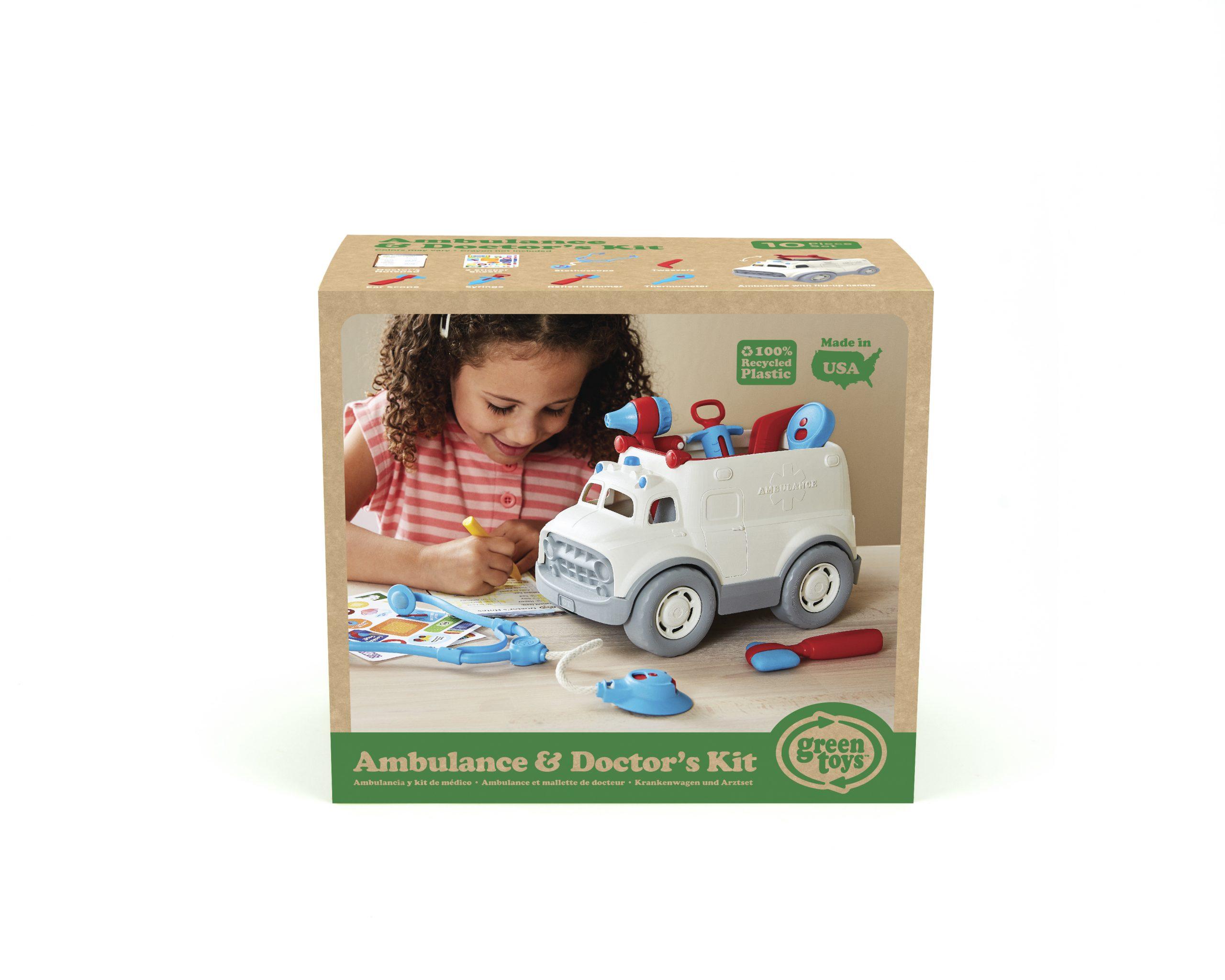 Green Toys: Ασθενοφόρο και Σετ Γιατρού AMDK-1313