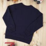 Μπλούζα Φούτερ Σκούρο Μπλε με Στάμπα για Αγόρι