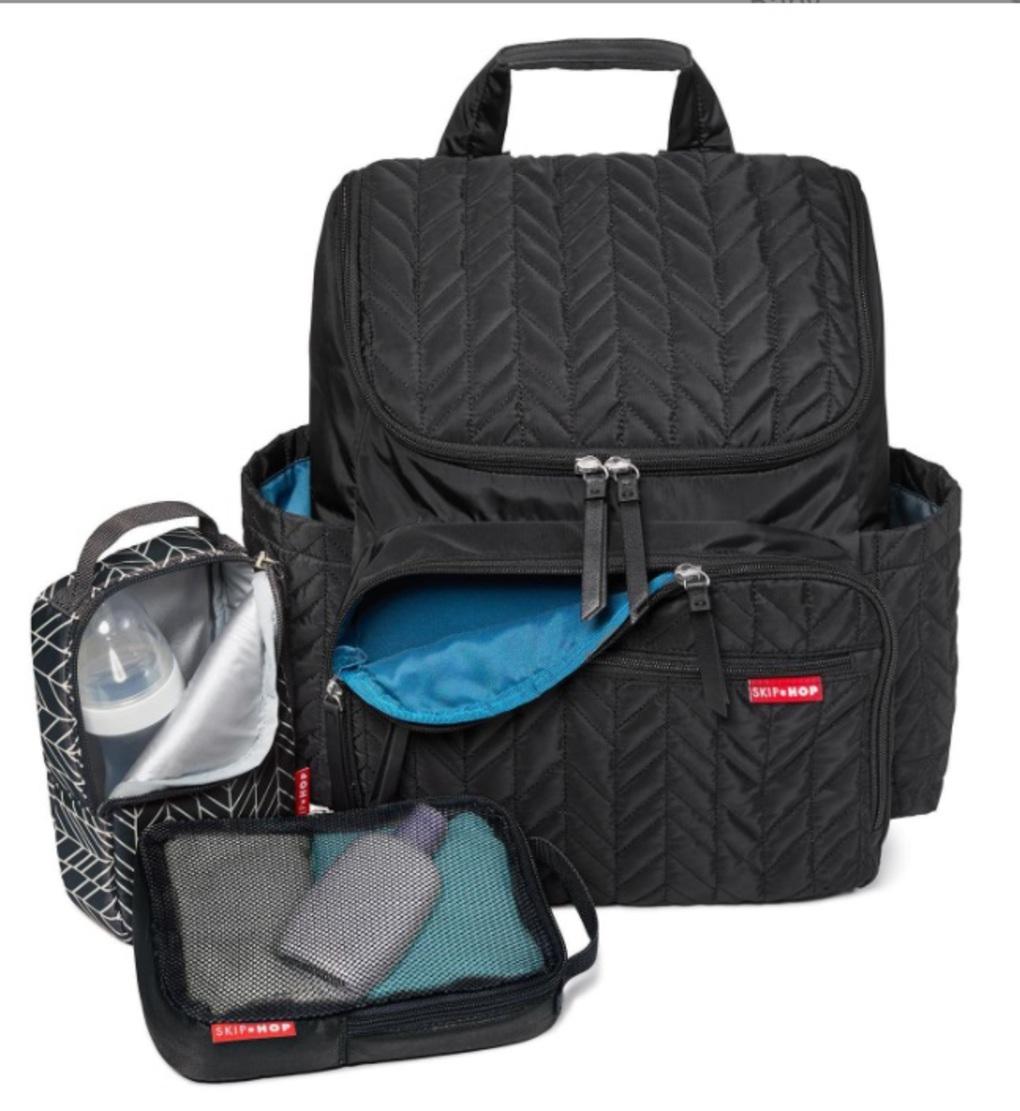Skip Hop Τσάντα - Forma Backpack - Jet Black
