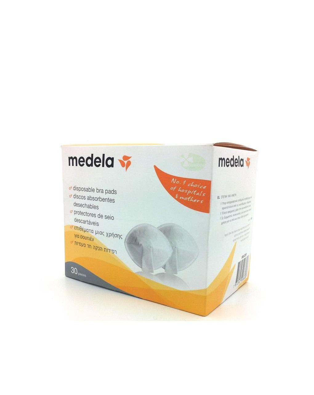 Medela Επιθέματα Στήθους  Safe & Dry™  30 Tεμ.