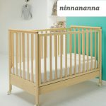 Baby SuperStar Κρεβάτι Ninnananna Φυσική Απόχρωση 62x125 cm