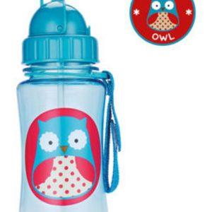 Παγούρι με Καλαμάκι Zoo - Owl