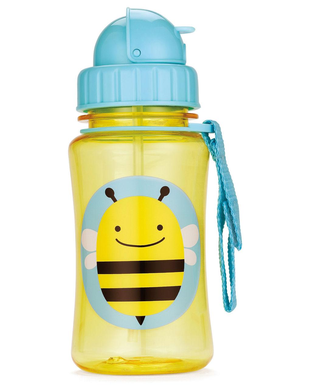 Παγούρι με Καλαμάκι Zoo - Bee