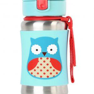 Ανοξείδωτο Παγούρι Zoo - Owl