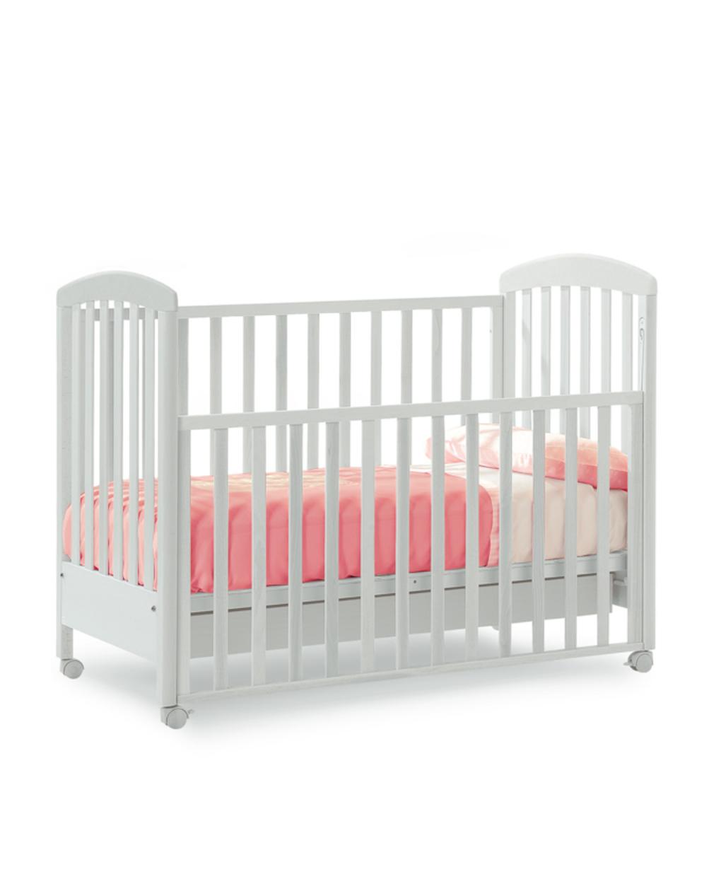 Giordani Κρεβάτι Alice Απόχρωση Λευκή 71×104×130 cm