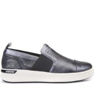 Sneakers Geox J Aveup Girl Γκρι για Κορίτσι