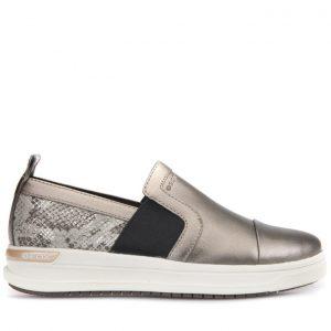 Sneakers Geox J Aveup Girl Χρυσό για Κορίτσι
