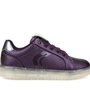 Sneakers Geox J Kommodor Girl Μωβ για Κορίτσι