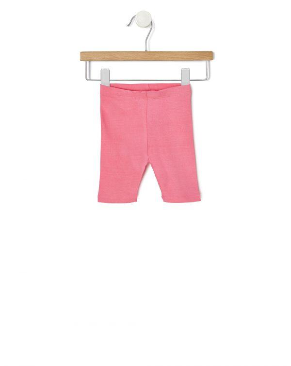 Κολάν Jersey 3/4 Ελαστικό Ροζ για Κορίτσι