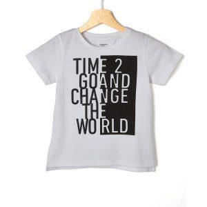 T-shirt jersey με αναγραφή