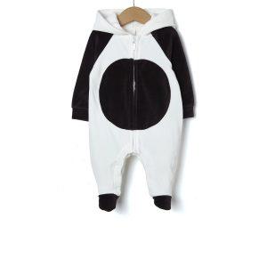 Φορμάκι Σενίλ Funny Panda με Κουκούλα Unisex
