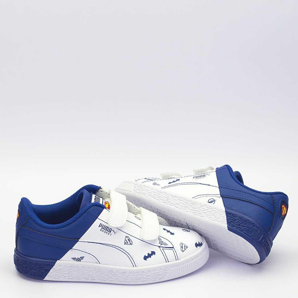 Αθλητικά Παπούτσια Puma 365148 JL Basket V PS Μεγ.28-35 για Αγόρι
