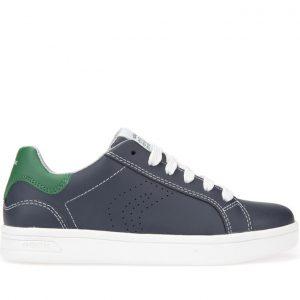 Sneakers Geox J Djrock Navy/Green Μεγ.28-34 για Αγόρι
