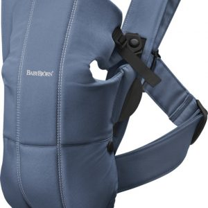 ΜΑΡΣΙΠΟΣ BABYBJORN CARRIER MINI VINTAGE INDIGO COTTON