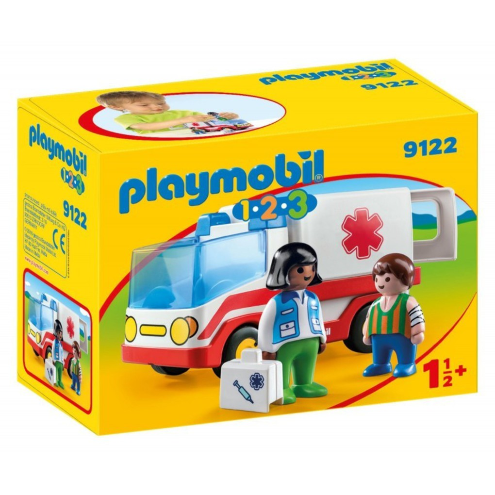 Playmobil γιατρός και ασθενοφόρο
