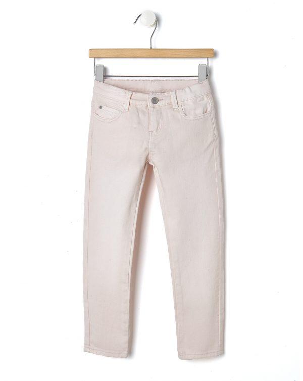 Παντελόνι Twill Ροζ Ανοιχτό για Κορίτσι