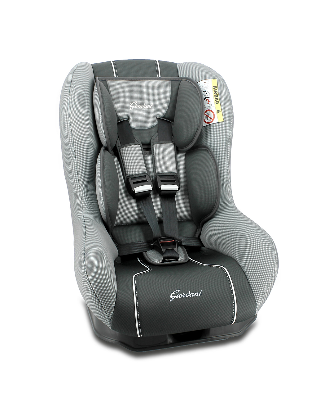 Giordani Κάθισμα Αυτοκινήτου G First Γκρι-Μαύρο Ομ.0+/1