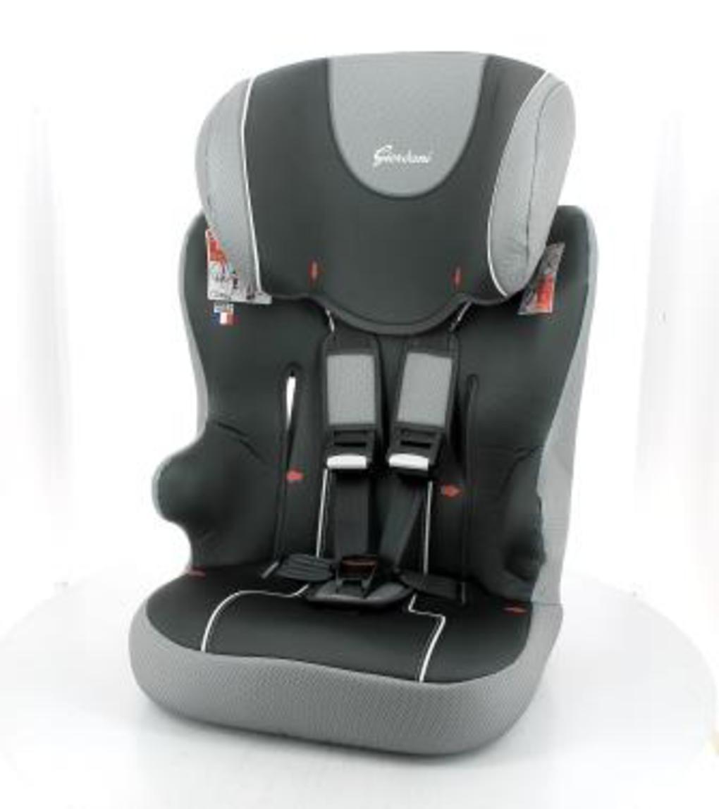 Giordani Κάθισμα Αυτοκινήτου 123 BasicΓκρι-Μαύρο Ομ.1-2-3