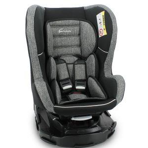 Giordani Κάθισμα Αυτοκινήτου Galaxy Ομ.0/1/2 Γκρι-Μαύρο